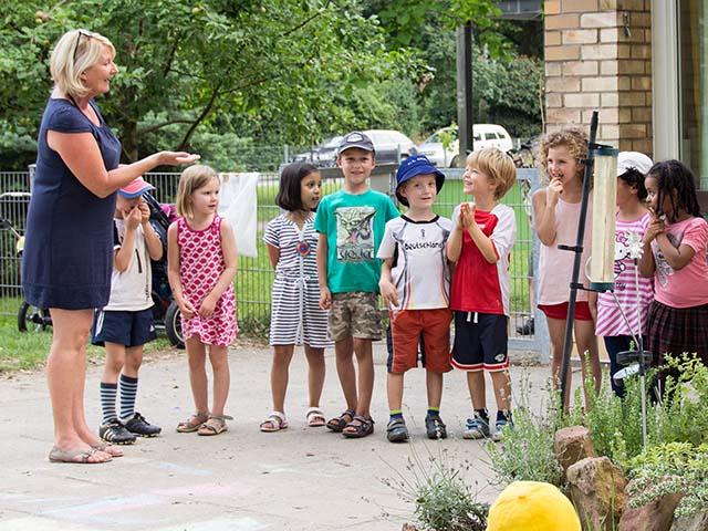 Evangelischer kindergarten arche for Evangelischer kindergarten